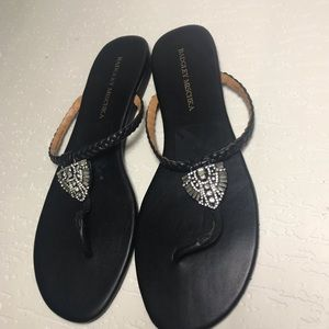 BADGLEY MISCHKA Black Sandals 9M